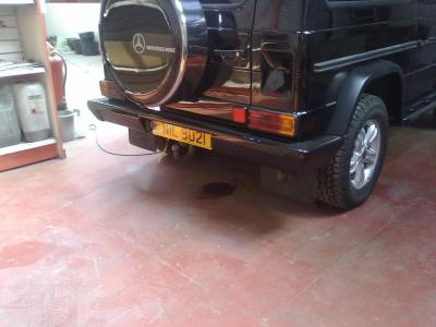 rear bumper just about finished..........